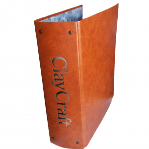 ClayCraft Magazine Binder