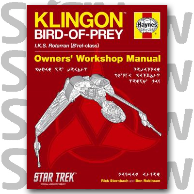 Haynes Klingon Bird-of-Prey Book