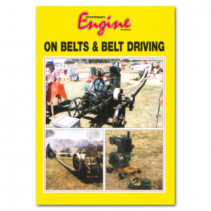 Stationary Engine On: Belts & Belt Driving