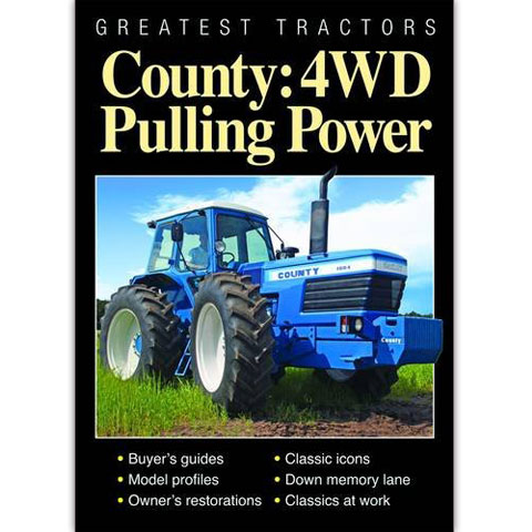 Greatest Tractors - County: 4WD Pulling Power