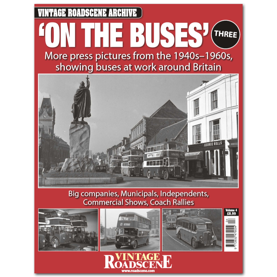 Vintage Roadscene Archive Vol4 - On the Buses Book Three