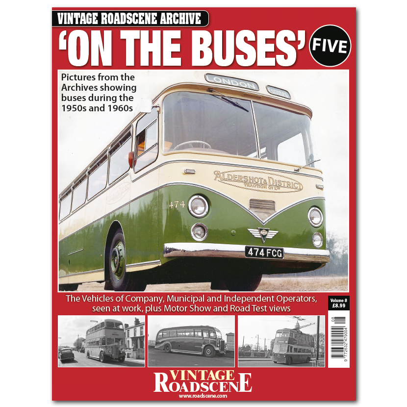 Vintage Roadscene Archive Vol8 - On the Buses Book Five