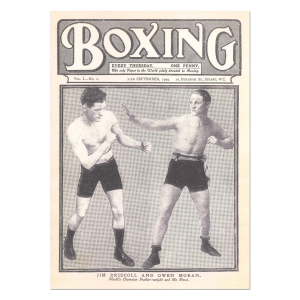 Boxing News First Ever Issue