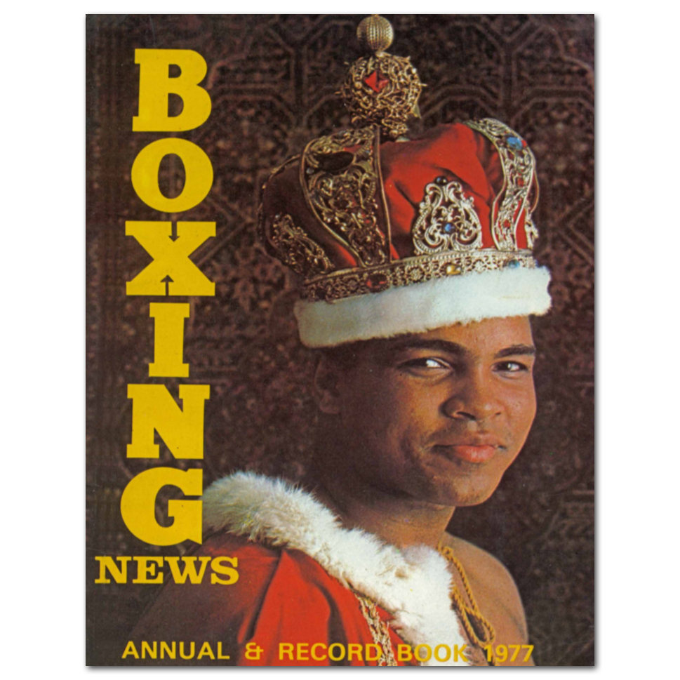 Boxing News Poster - 1977 Annual Cover