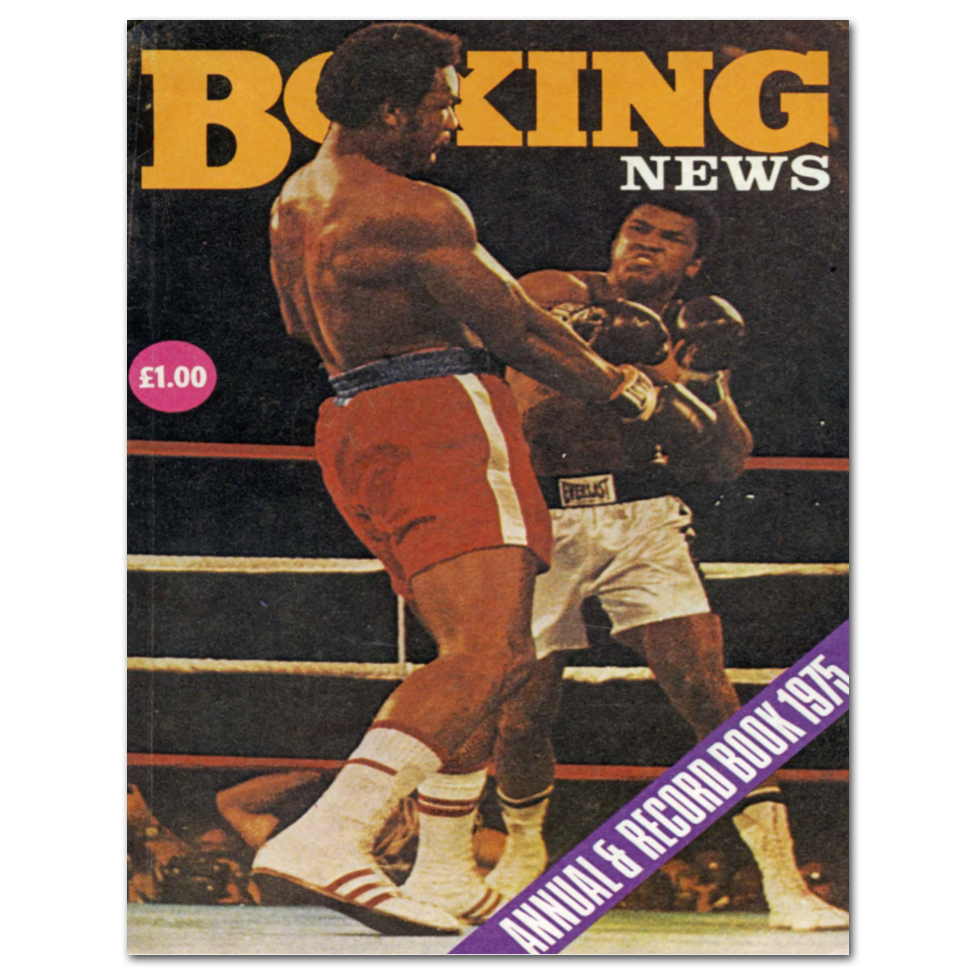 Boxing News Poster - 1975 Annual Cover