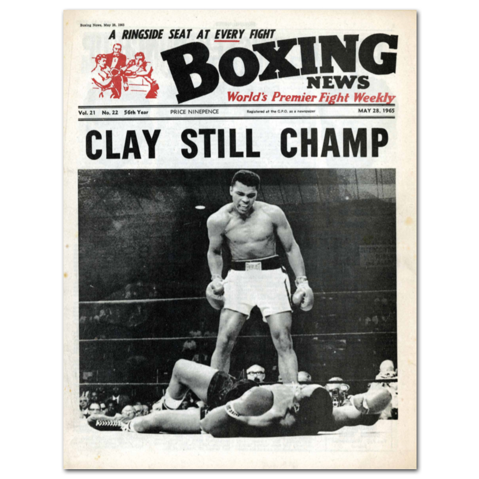Boxing News Poster - 28th May 1965 Issue Cover