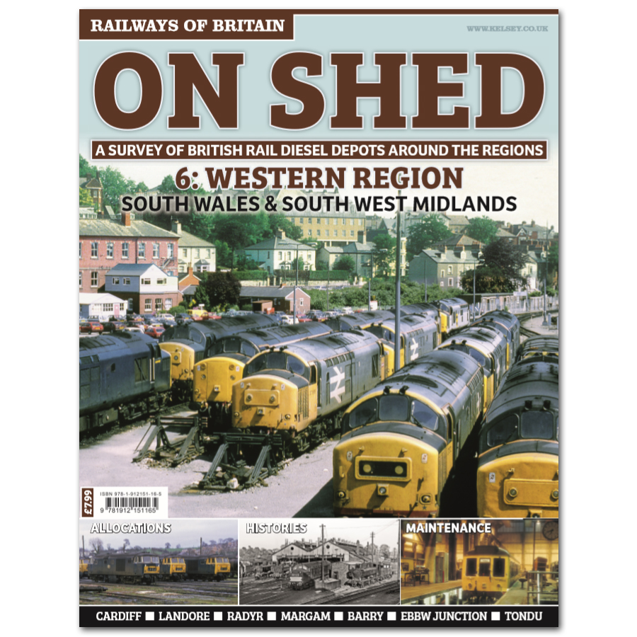 On Shed #6 Western Region - South Wales & South West Midlands