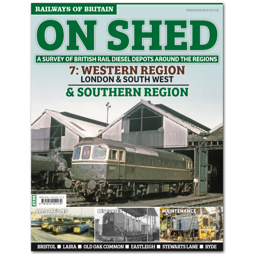 On Shed #7 Western Region - London & South West and Southern Region