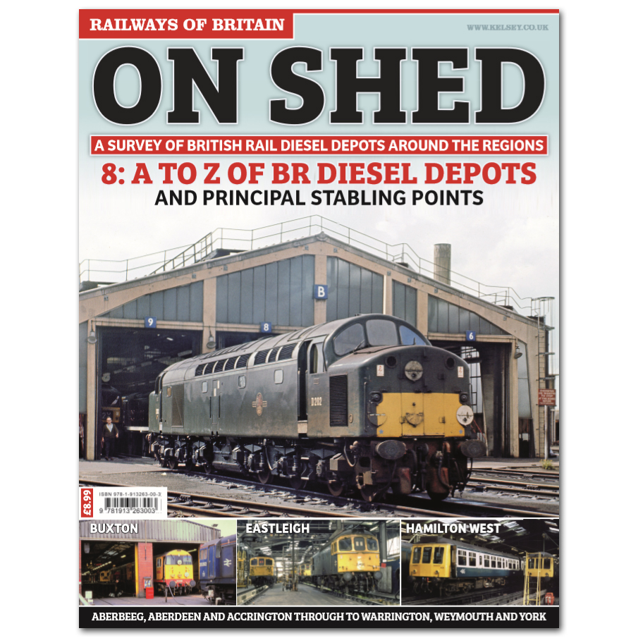 On Shed #8 A-Z Review of BR Diesel Depots