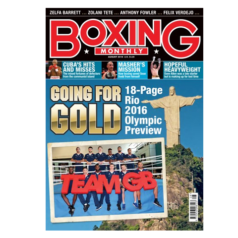 Boxing Monthly | August 2016