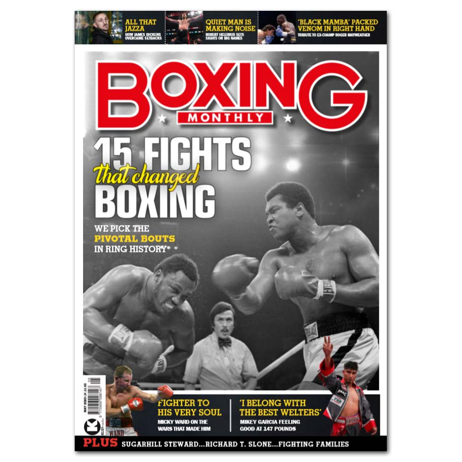 Boxing Monthly - CLOSED
