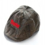 Tractor Brown Flat Cap