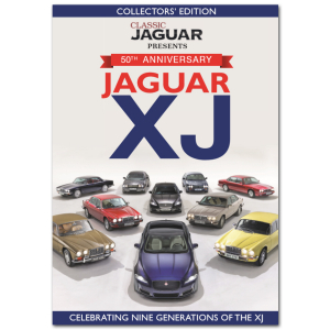 Jaguar XJ 50th Anniversary Bookazine