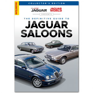 The Definitive Guide to Jaguar Saloons Bookazine