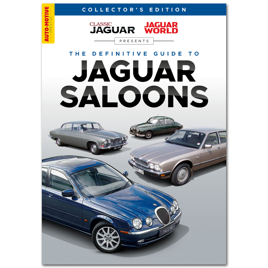 The Definitve Guide to Jaguar Saloons Bookazine