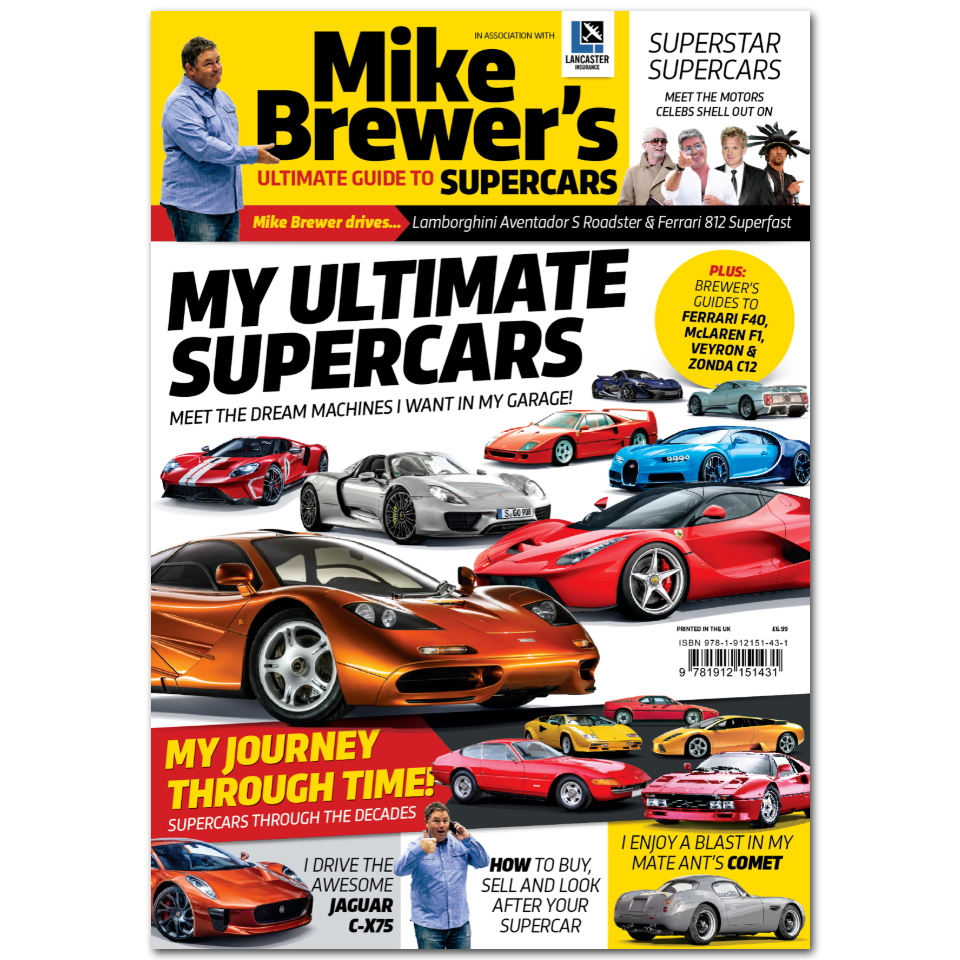 Mike Brewer's Ultimate Guide to Supercars Bookazine