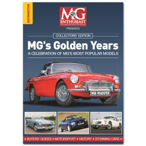 MG's Golden Years Bookazine