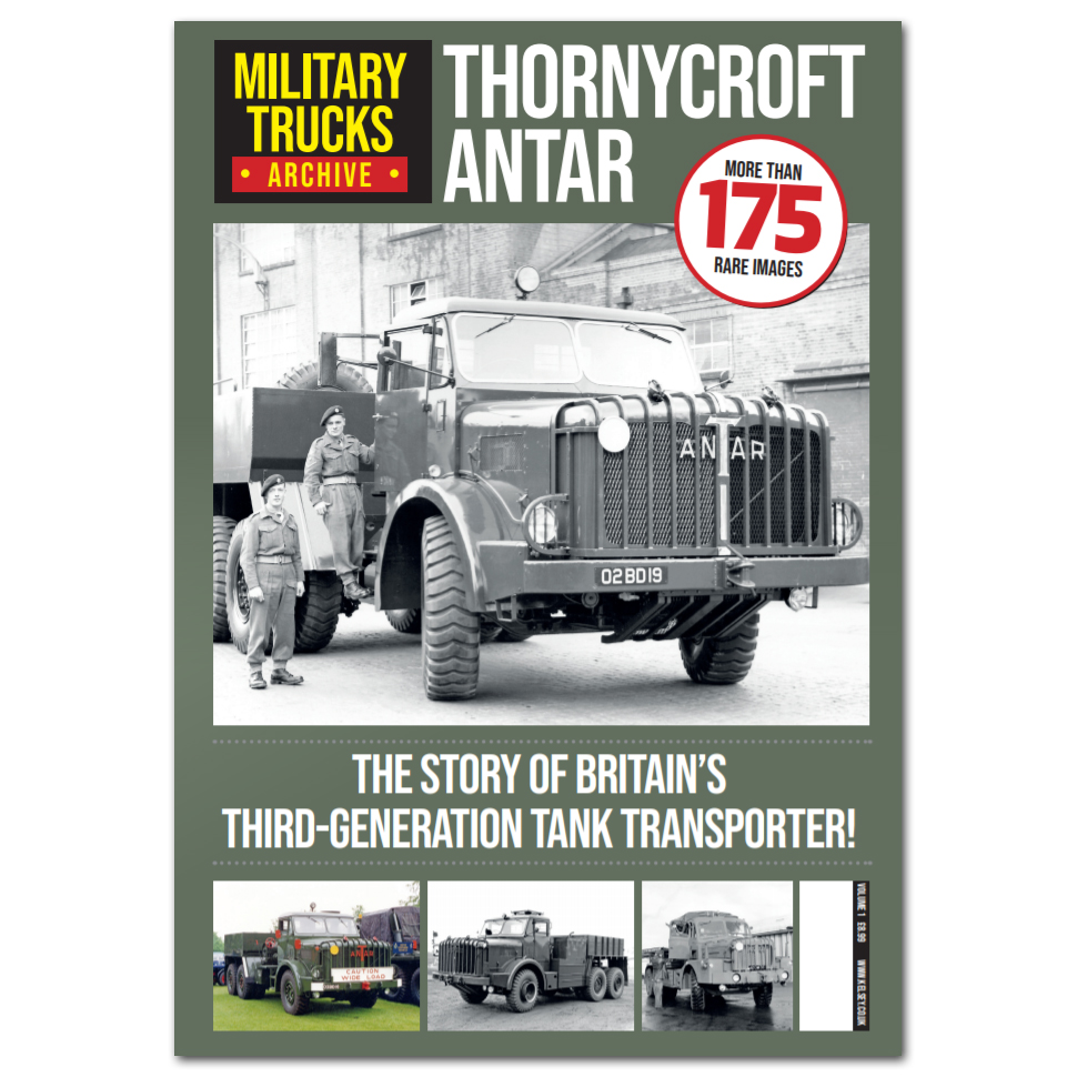 Military Trucks Archive Vol.1 - Thornycroft Antar