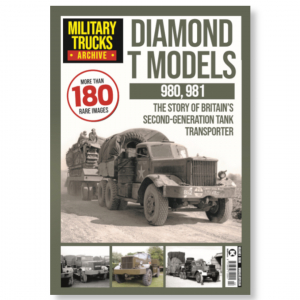 Military Trucks Archive Vol 3- Diamond T