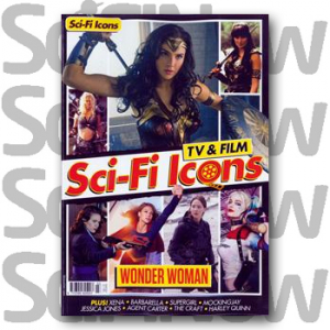 Sci-Fi Icons: TV & Film Issue 2 Wonder Woman