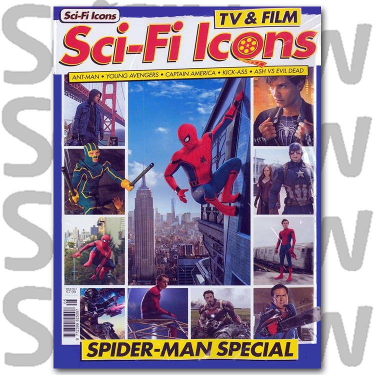 Sci-Fi Icons: TV & Film Issue 3 Spider Man