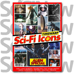 Sci-Fi Icons: Timewarp Issue 1 Alien Special