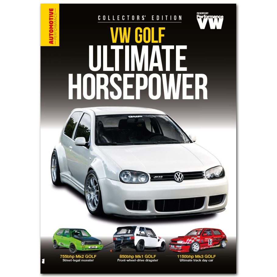 VW Golf Ultimate Hoserpower Bookazine