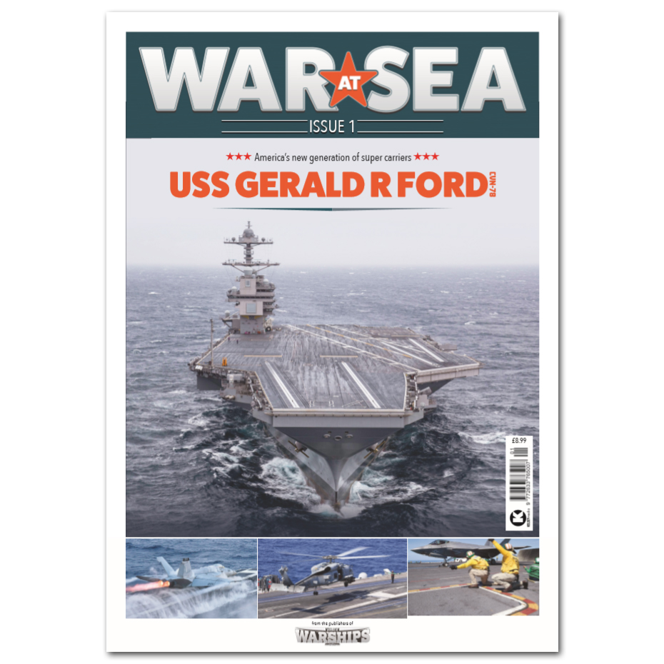War at Sea Issue 1 - Gerald R Ford