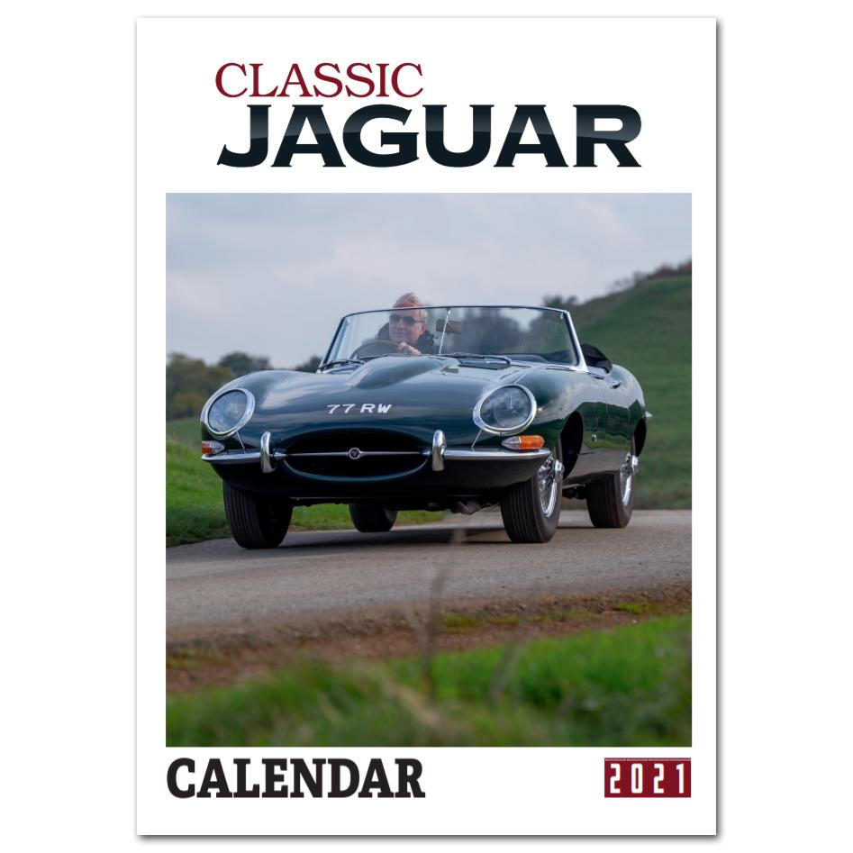 Classic Jaguar Calendar 2021