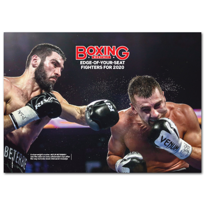 Boxing Monthly Calendar 2020