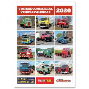 <B>HALF MARKED PRICE</B> Vintage Commercial Vehicle Calendar 2020