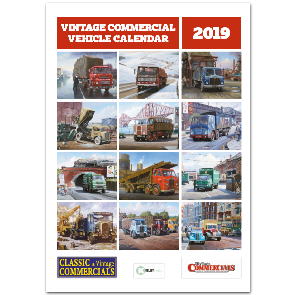 Vintage Commercial Vehicle Calendar 2019