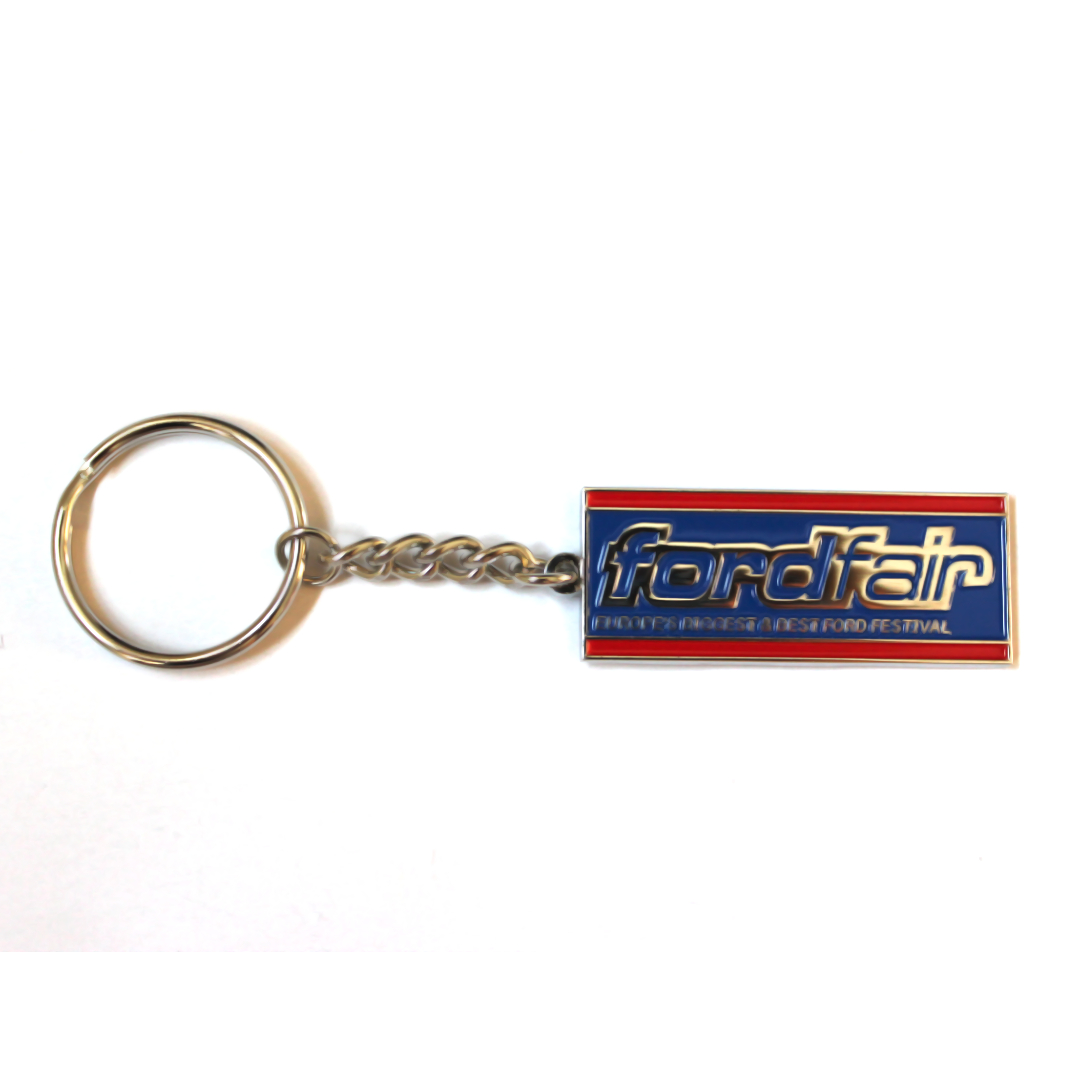 Ford Fair Metal Keyring
