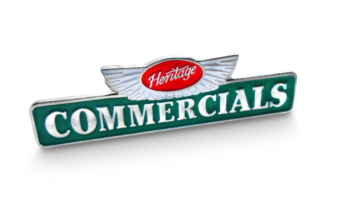 Heritage Commercials Badge