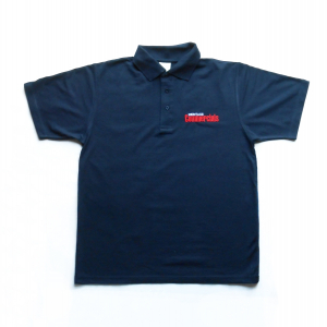 Heritage Commercials Black Polo Shirt
