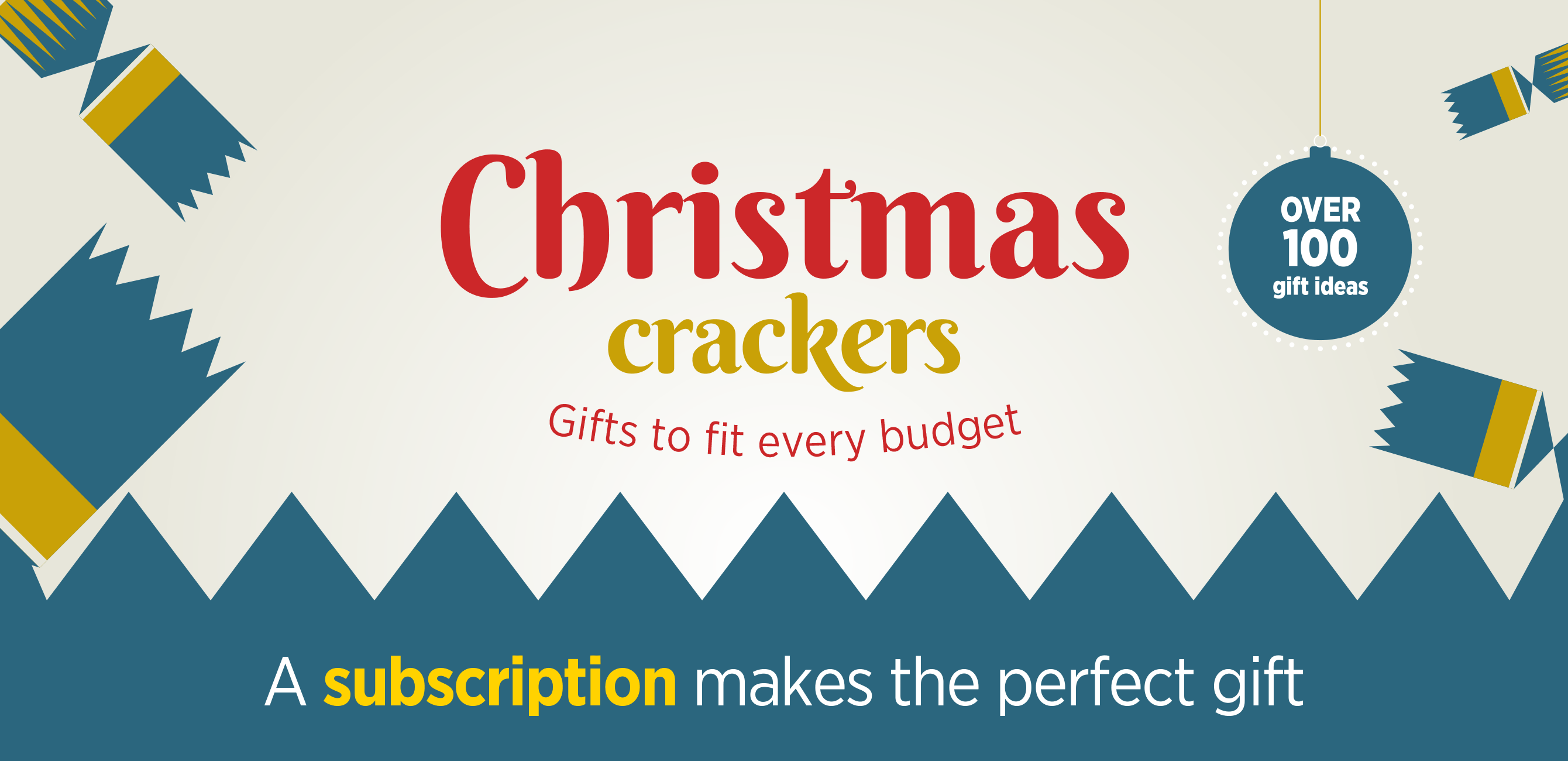 Christmas crackers - Gifts to fit every budget