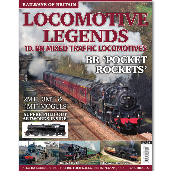 Locomotive Legends #10 BR Mixed Traffic Locos