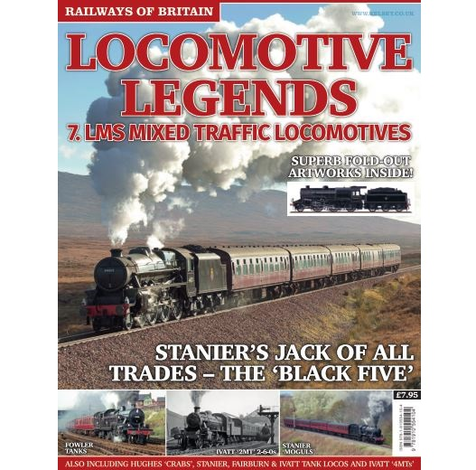 Locomotive Legends #7 LMS Mixed Traffic Locos