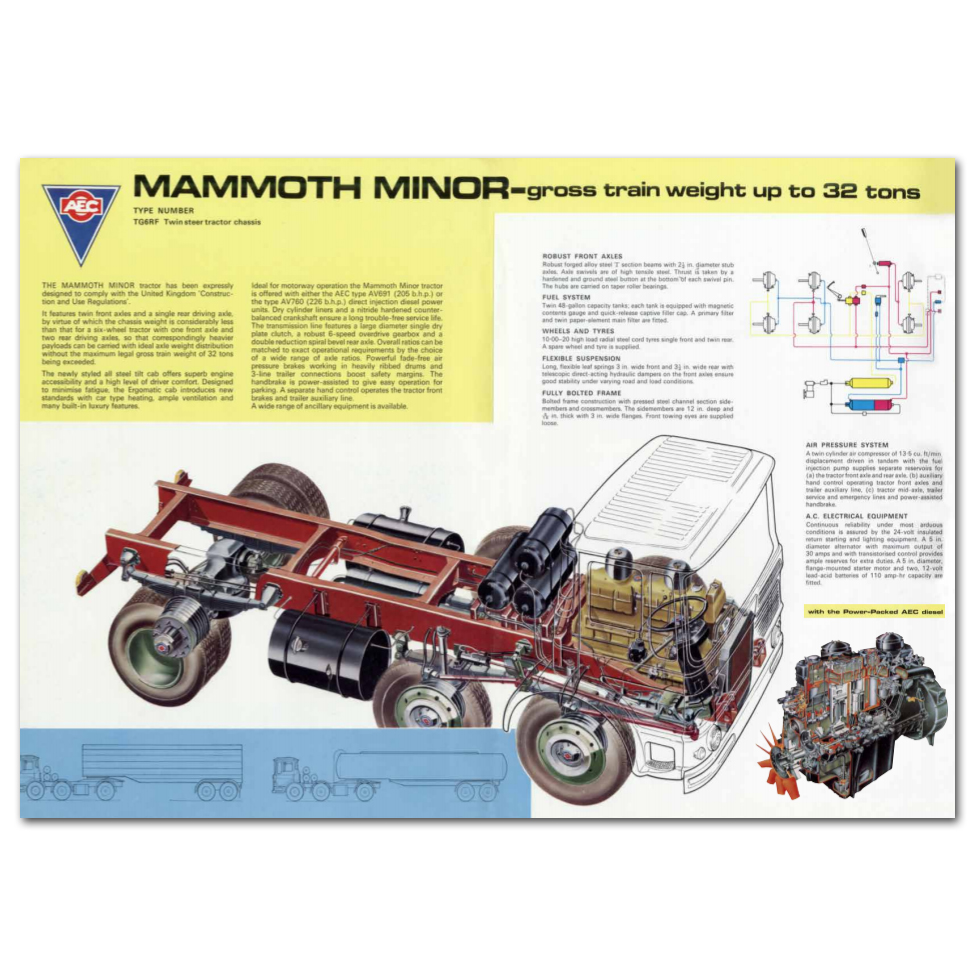 Lorry Poster #11 - Mammoth Minor