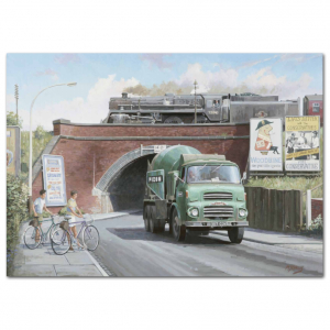 Lorry Poster #13 - Trucking on a Summer Day