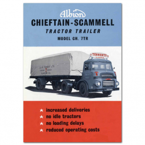 Lorry Poster #1 - Chieftain - Scammel