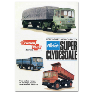 Lorry Poster #2 - Super Clydesdale