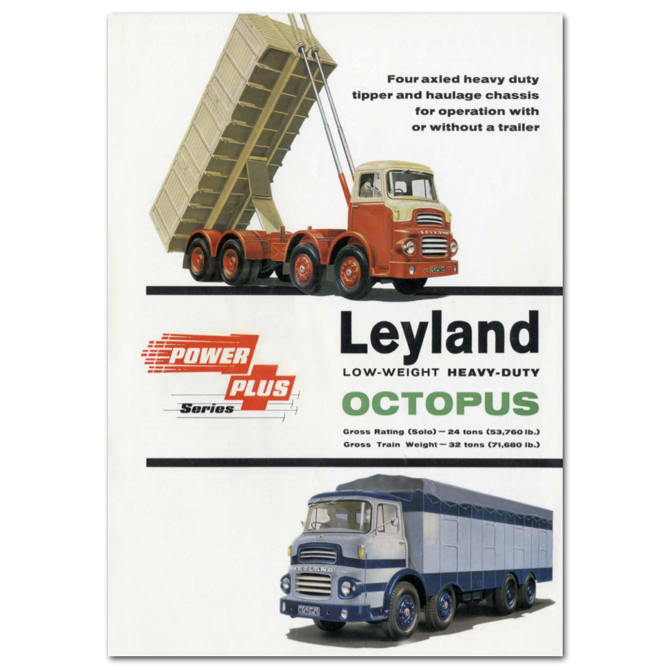Lorry Poster #7 - Leyland Octopus
