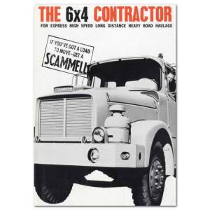 Lorry Poster #9 - Sammell 6x4 Contractor