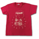 Old Glory Kids T-Shirt Fuschia - Ages from 3 to 15