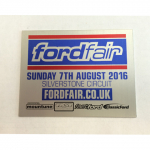 fordfair 2016 Plaque