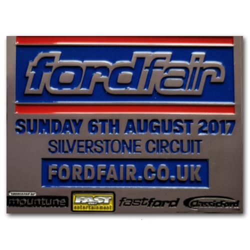 fordfair Souvenir PlaqueSunday 6th August 2017