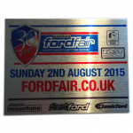 Ford Fair Souvenir Plaque Sunday 2nd August 2015