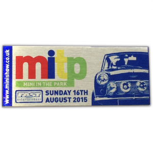 Mini in the Park Souvenir Plaque 16th Aug 2015