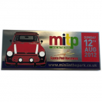 Mini in the Park Souvenir Plaque 12th Aug 2012